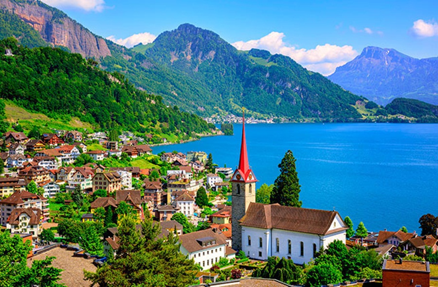 Beautiful Lake View Switzerland